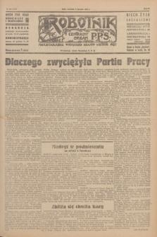 Robotnik : centralny organ P.P.S. R.51, nr 200 (5 sierpnia 1945) = nr 230