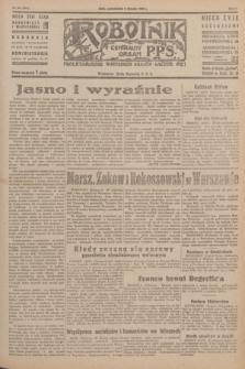 Robotnik : centralny organ P.P.S. R.51, nr 201 (6 sierpnia 1945) = nr 231