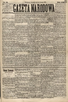 Gazeta Narodowa. 1883, nr19