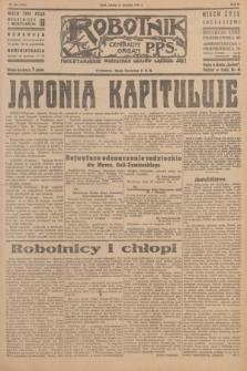 Robotnik : centralny organ P.P.S. R.51, nr 206 (11 sierpnia 1945) = nr 236