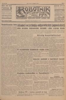 Robotnik : centralny organ P.P.S. R.51, nr 209 (14 sierpnia 1945) = nr 239