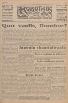 Robotnik : centralny organ P.P.S. R.51, nr 210 (15 sierpnia 1945) = nr 240