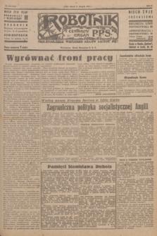 Robotnik : centralny organ P.P.S. R.51, nr 216 (21 sierpnia 1945) = nr 246