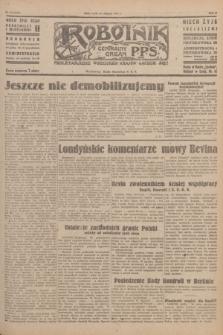 Robotnik : centralny organ P.P.S. R.51, nr 217 (22 sierpnia 1945) = nr 247