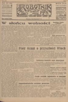 Robotnik : centralny organ P.P.S. R.51, nr 221 (26 sierpnia 1945) = nr 251