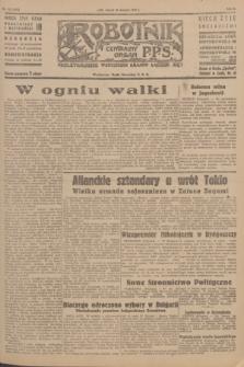 Robotnik : centralny organ P.P.S. R.51, nr 223 (28 sierpnia 1945) = nr 253