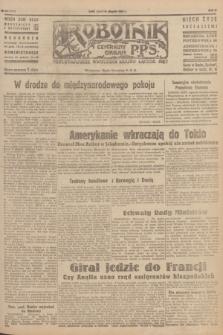 Robotnik : centralny organ P.P.S. R.51, nr 226 (31 sierpnia 1945) = nr 256