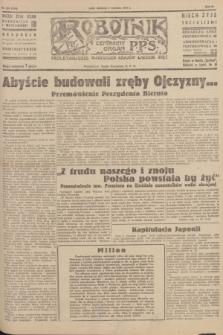 Robotnik : centralny organ P.P.S. R.51, nr 228 (2 września 1945) = nr 258