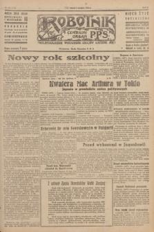 Robotnik : centralny organ P.P.S. R.51, nr 230 (4 września 1945) = nr 260