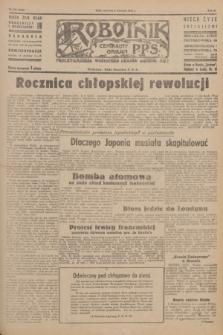 Robotnik : centralny organ P.P.S. R.51, nr 232 (6 września 1945) = nr 262