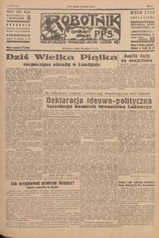 Robotnik : centralny organ P.P.S. R.51, nr 237 (11 września 1945) = nr 267