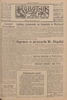 Robotnik : centralny organ P.P.S. R.51, nr 238 (12 września 1945) = nr 268