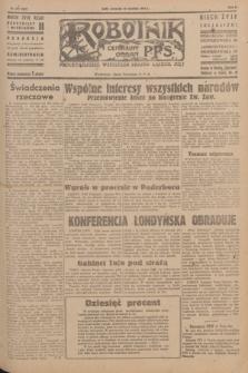 Robotnik : centralny organ P.P.S. R.51, nr 239 (13 września 1945) = nr 269