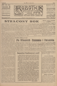 Robotnik : centralny organ P.P.S. R.51, nr 248 (22 września 1945) = nr 278