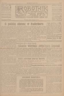 Robotnik : centralny organ P.P.S. R.51, nr 254 (28 września 1945) = nr 284