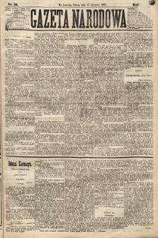 Gazeta Narodowa. 1883, nr21