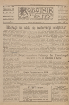 Robotnik : centralny organ P.P.S. R.51, nr 262 (6 października 1945) = nr 292