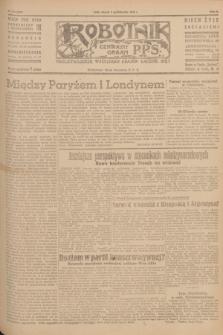 Robotnik : centralny organ P.P.S. R.51, nr 265 (9 października 1945) = nr 295