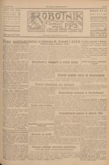 Robotnik : centralny organ P.P.S. R.51, nr 266 (10 października 1945) = nr 296