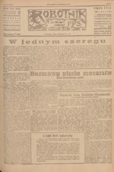 Robotnik : centralny organ P.P.S. R.51, nr 267 (11 października 1945) = nr 297