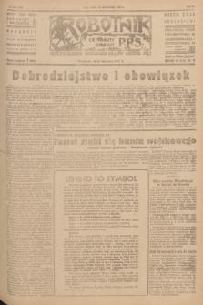 Robotnik : centralny organ P.P.S. R.51, nr 269 (13 października 1945) = nr 299