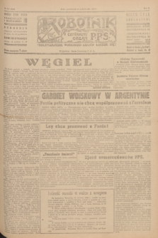 Robotnik : centralny organ P.P.S. R.51, nr 271 (15 października 1945) = nr 301