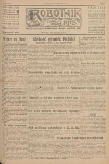 Robotnik : centralny organ P.P.S. R.51, nr 278 (22 października 1945) = nr 308