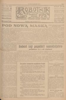 Robotnik : centralny organ P.P.S. R.51, nr 283 (27 października 1945) = nr 313