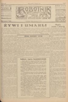 Robotnik : centralny organ P.P.S. R.51, nr 298 (1 listopada 1945) = nr 328