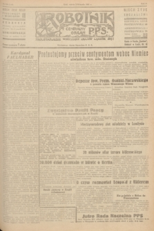 Robotnik : centralny organ P.P.S. R.51, nr 300 (3 listopada 1945) = nr 330