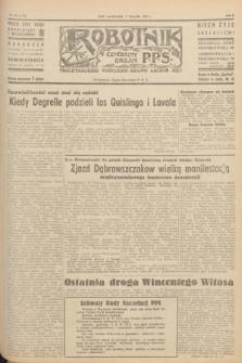 Robotnik : centralny organ P.P.S. R.51, nr 302 (5 listopada 1945) = nr 332