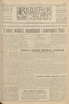 Robotnik : centralny organ P.P.S. R.51, nr 303 (6 listopada 1945) = nr 333