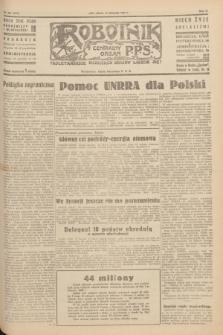 Robotnik : centralny organ P.P.S. R.51, nr 307 (10 listopada 1945) = nr 337