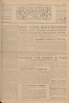 Robotnik : centralny organ P.P.S. R.51, nr 309 (12 listopada 1945) = nr 339