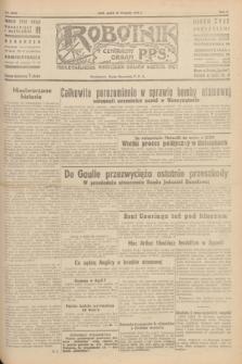 Robotnik : centralny organ P.P.S. R.51, nr 313 (16 listopada 1945) = nr 343