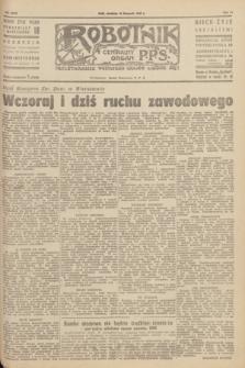 Robotnik : centralny organ P.P.S. R.51, nr 315 (18 listopada 1945) = nr 349