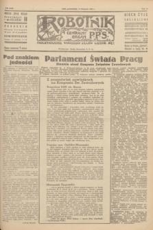 Robotnik : centralny organ P.P.S. R.51, nr 316 (19 listopada 1945) = nr 346