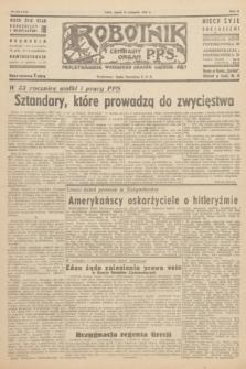 Robotnik : centralny organ P.P.S. R.51, nr 320 (23 listopada 1945) = nr 350