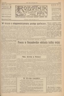 Robotnik : centralny organ P.P.S. R.51, nr 321 (24 listopada 1945) = nr 351