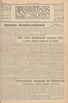 Robotnik : centralny organ P.P.S. R.51, nr 322 (25 listopada 1945) = nr 352