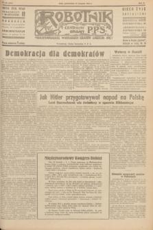 Robotnik : centralny organ P.P.S. R.51, nr 333 (26 listopada 1945) = nr 355