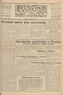 Robotnik : centralny organ P.P.S. R.51, nr 334 (27 listopada 1945) = nr 354