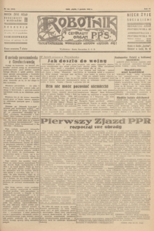 Robotnik : centralny organ P.P.S. R.51, nr 344 (7 grudnia 1945) = nr 374