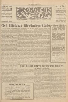 Robotnik : centralny organ P.P.S. R.51, nr 345 (8 grudnia 1945) = nr 375