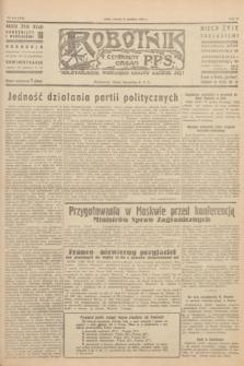 Robotnik : centralny organ P.P.S. R.51, nr 348 (11 grudnia 1945) = nr 378