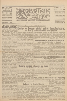 Robotnik : centralny organ P.P.S. R.51, nr 350 (13 grudnia 1945) = nr 380