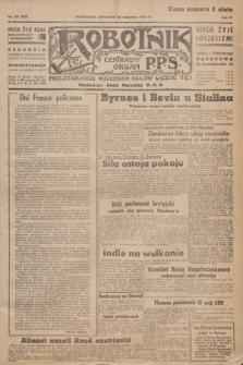 Robotnik : centralny organ P.P.S. R.51, nr 357 (20 grudnia 1945) = nr 387