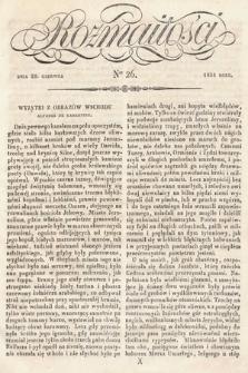 Rozmaitości : pismo dodatkowe do Gazety Lwowskiej. 1834, nr26