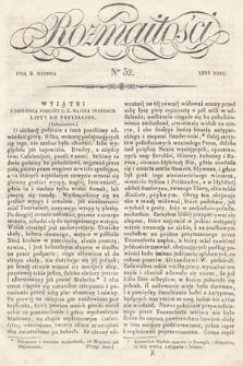 Rozmaitości : pismo dodatkowe do Gazety Lwowskiej. 1834, nr32