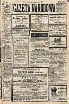 Gazeta Narodowa. 1883, nr51
